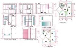 Urban House Plan Detail