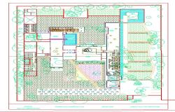 Club House Plan Design