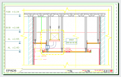 Suspended ceiling details