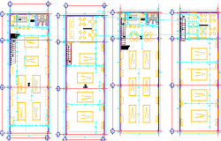 coffee restaurant dwg file
