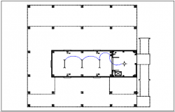 column plan details of the dwg file