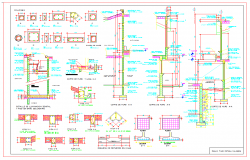 concrete construction details dwg files