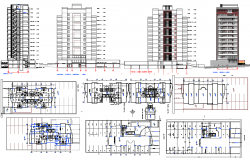 corporate Office Project detail view dwg file