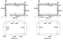 corporate building structural section plan