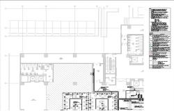 corporatel building , Power layout  of with all description.