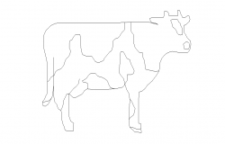 cow dwg file