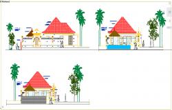 Bungalows elevation design