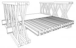 Bridge section detail