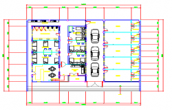 Apartment Detail Dwg file.