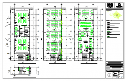 Classroom 3 Levels for Building