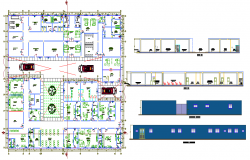 Project of hospital plan