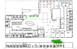 Hotel Reception plan