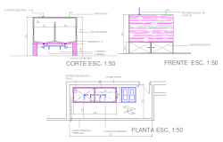 False Ceiling Design Autocad Drawings Free Download