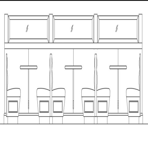 Dining area restaurant detail