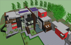 Modern Bungalows Design