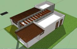 Spa center 3d