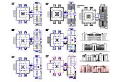 Collage design plan