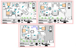 Bungalows lay-out design
