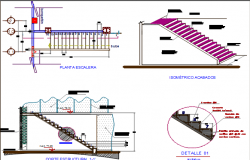 escalator design dwg file