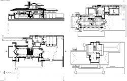 Robie House plan