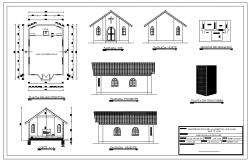 Church Plan & Elavation