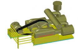 3D Compressor Machine