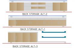Storage elevation detail