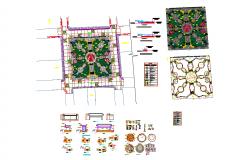 Garden detail plan
