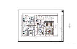 false ceiling plan 2BHK