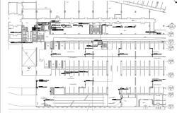 ground floor layout of building
