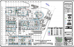 hospital airconditioning system dwg file