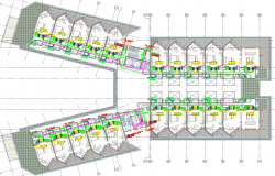 hotel duct plan dwg file