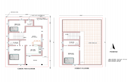 house Plan 2BHK