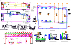 industrial unit dwg file