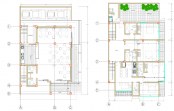 interior design project dwg file