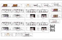 jewellery shops interior design cad files