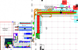 layout plan of a duct dwg file