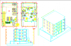 multi family housing dwg file