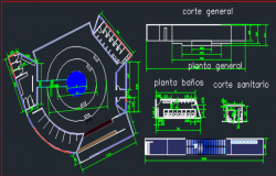 nocturne center dwg file