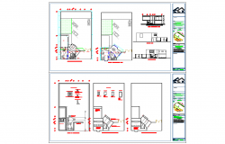 office of construction Detail in DWG file