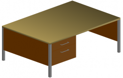 office table dwg file
