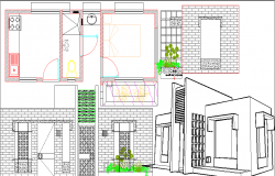 project country house dwg file