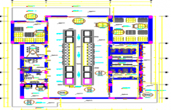 proposed plant gathering dwg file