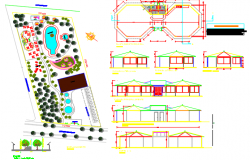 recreation center dwg file
