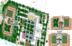 resort and restaurant dwg file