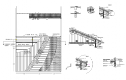 roof covering detail drawing