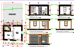 school office dwg file