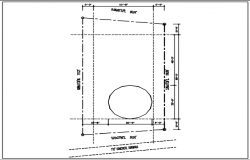 site plan consisting dimensions dwg file