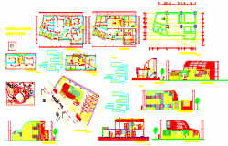 small medical centre dwg file