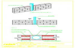 solution of Rainy and sanitary slopes design drawing